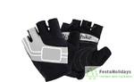 Перчатки Naturehike NH Half Finger Cycling Gloves серый
