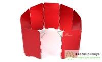 Ветрозащитный экран жесткий Fire-Maple WIND-SCREEN FMW-503 Бордовый