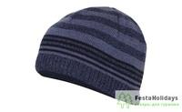 Шапка Marhatter MMH 8218/1 темно-синий мулине