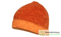 Шапка Splav Classic Thermal Pro меланж оранжевый