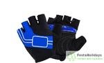 Перчатки Naturehike NH Half Finger Cycling Gloves синий