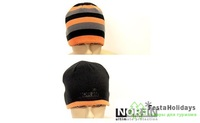 Шапка Norfin Discovery серый/оранжевый/черный