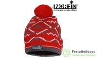 Шапка женская Norfin Norway красный