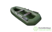 Лодка Тонар Капитан зеленый