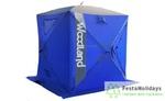 Палатка для зимней рыбалки Woodland Ice Fish 4 синий