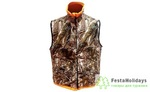 Жилет флис. Norfin Hunting REVERSABLE VEST PASSION/ORANGE