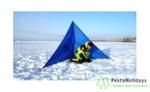 Укрытие зимнее для рыбака Пингвин Крыло
