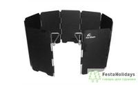 Ветрозащитный экран жесткий Fire-Maple WIND-SCREEN FMW-508 Чёрный