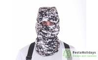 Балаклава-маска Keotica мембрана на флисе digital urban