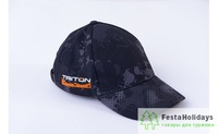Бейсболка Тритон (SoftShell) серо-черный