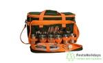 Набор для пикника на 6 персон Premier (т.зеленый/оранжевый)