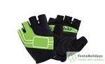 Перчатки Naturehike NH Half Finger Cycling Gloves зеленый