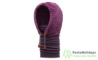 Капюшон Buff Hoodie Polar Thermal Dark Purple