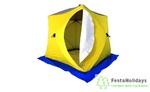 Палатка для зимней рыбалки Стэк Куб-3 трехслойная (дышащая)
