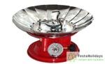 Портативная газовая плита Runis GR-202 (ветрозащитная)