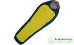 Спальный мешок Trimm Lite Impact 185см желтый