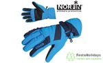 Перчатки женские Norfin Women Windstop синий