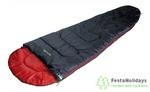 Спальный мешок High Peak Action 250 антрацит/красный