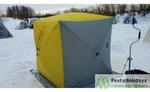 Палатка для зимней рыбалки Helios КУБ 1.8x1.8м 3 Желтых/2 серых