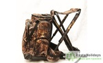 Рюкзак-стул AVI-Outdoor Hagle 50 л Hard camo Темный камуфляж