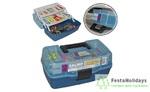 Ящик рыболовный пластмассовый Salmo (двухполочный)