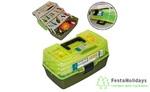 Ящик рыболовный пластмассовый Salmo (трехполочный)