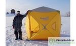 Палатка зимняя Куб EXTREME 1,8х1,8 (HW-TENT-80059-2) Helios (бур-ввертыш 8 шт. в комплекте), шт